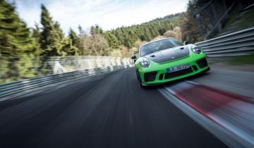 911 GT3 RS七分鐘內完成「綠色地獄」